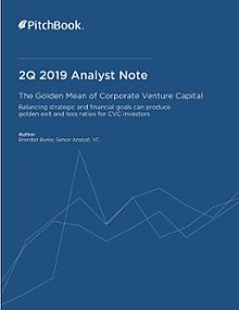 PitchBook Analyst Note: The Golden Mean of Corporate Venture Capital