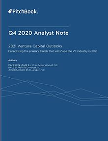 PitchBook Analyst Note: 2021 US Venture Capital Outlook