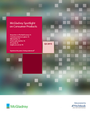 McGladrey & PitchBook Spotlight on Consumer Products