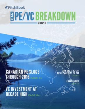 Canada PE & VC Breakdown: II