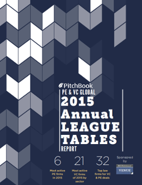 Annual Global PE & VC League Tables Report