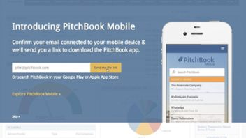 PitchBook Goes Mobile
